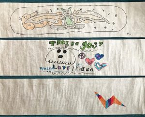 """Drumroll winners of our """"Design Your Dream Graphics"""" art contest are, In 1st place,…"""